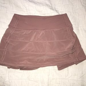 Lululemon pace rival skirt skort tennis golf skirt